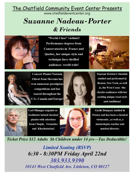 Suzanne Porter Event